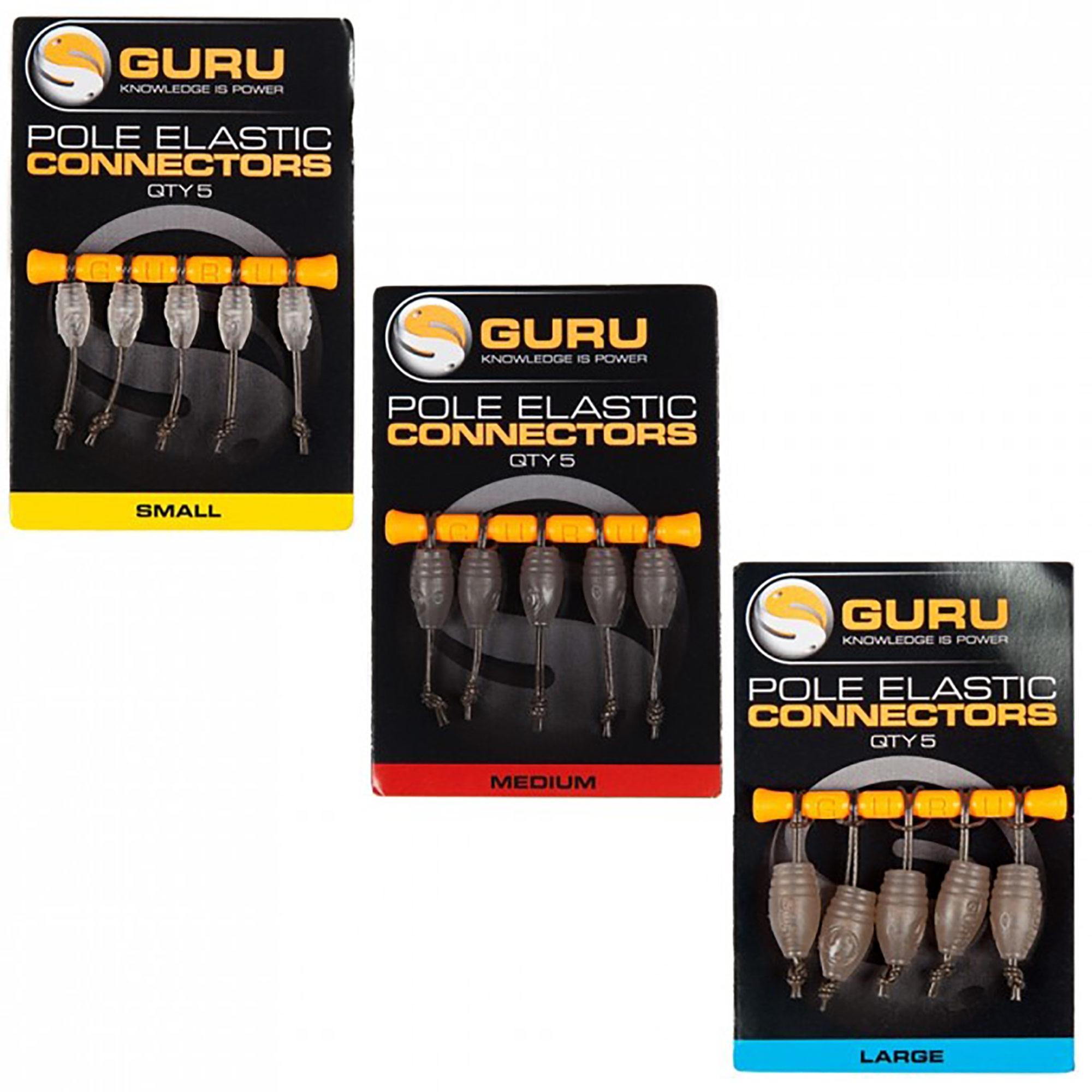 Apicale Elastic connector GURU (5 pezzi)