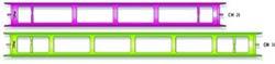 Avvolgilenza  cm. 35 LARGO (10 pezzi)