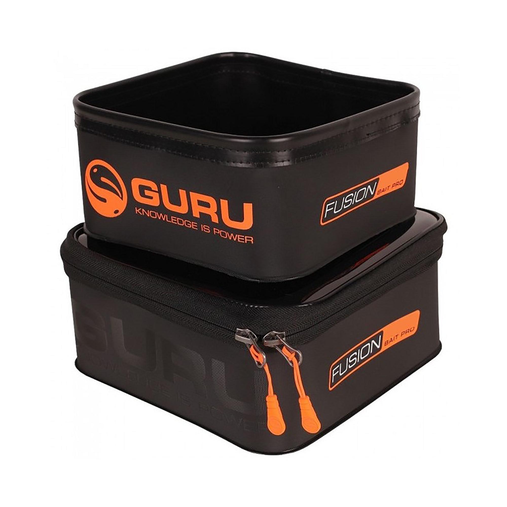 Astuccio Fusion 600 + Bait pro 500 (combo) GURU