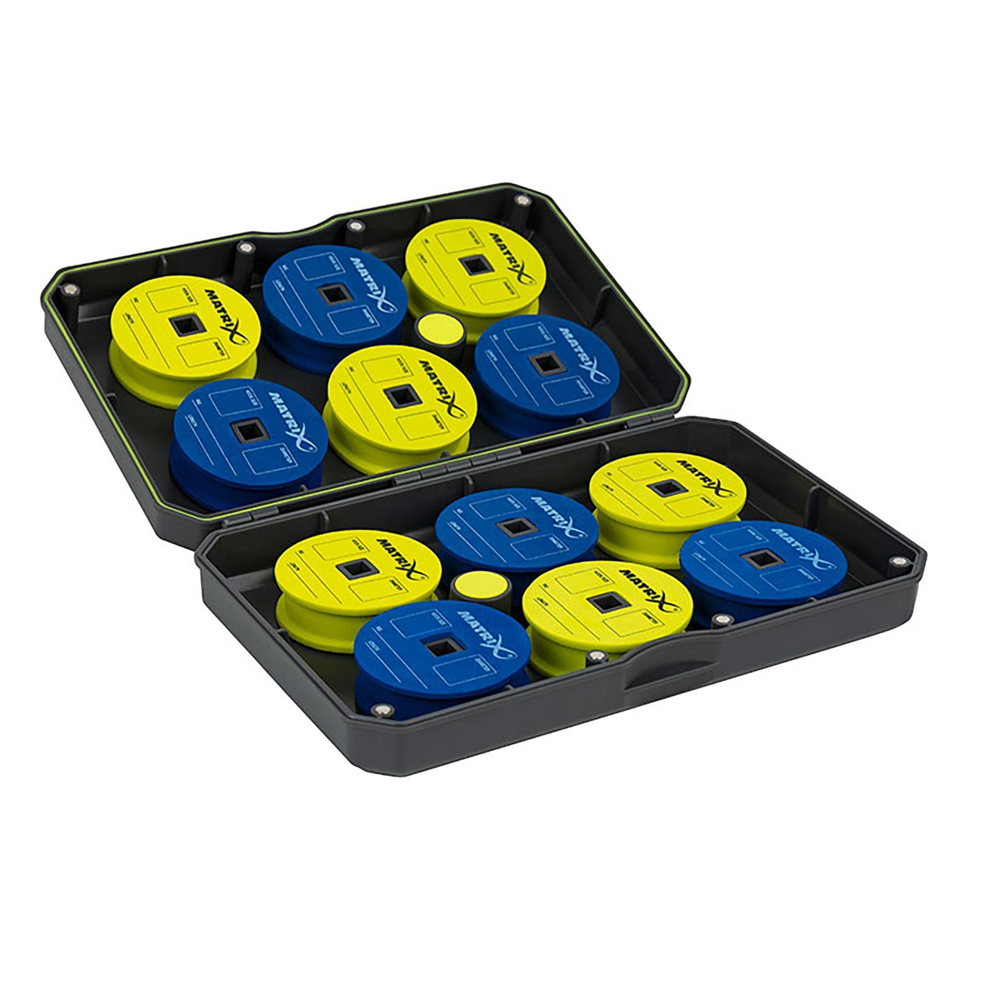 Box porta rotolini per finali MATRIX (12 rotolini)