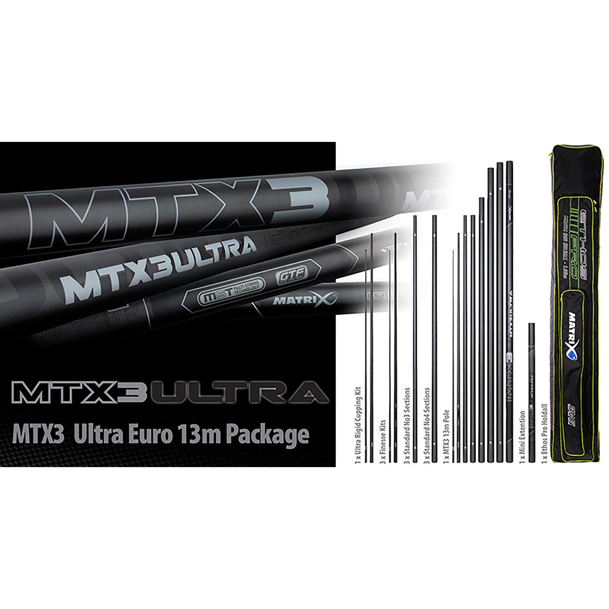 Pack Roubaisienne MTX3 Ultra Pole MATRIX (13,00 mt)
