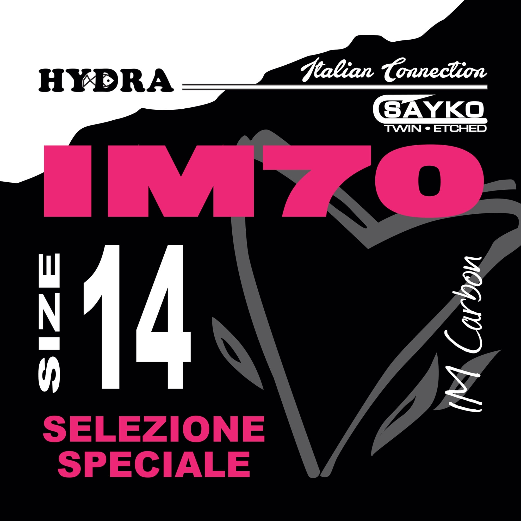AMI HYDRA serie IM70 Nichelato (20pz)