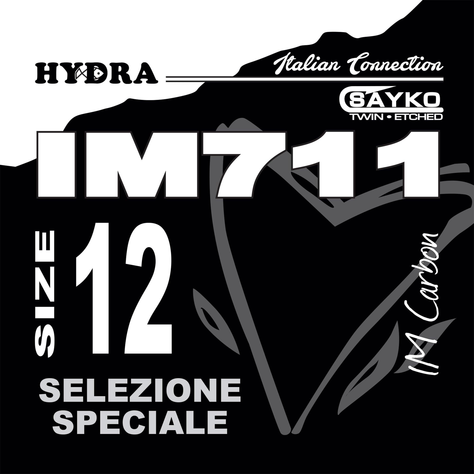 AMI HYDRA serie IM711 Black Nichel (20pz)