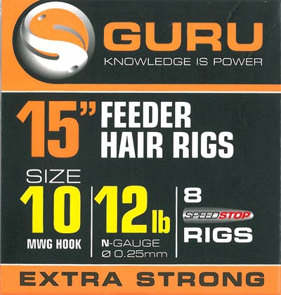 Ami Hair Rigs MWG con Speedstop GURU 38cm