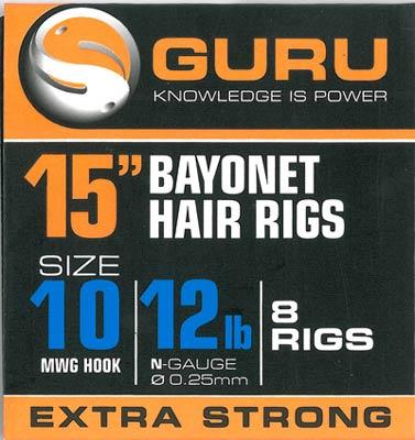 Ami Hair Rigs MWG con Bayonet GURU 38cm