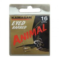 Ami KAMASAN ANIMAL Eyed (con occhiello) Barbed