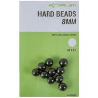 Sfere paracolpi Hard Beads in gomma 8mm KORUM (10 pz)