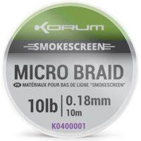 Trecciato per terminali Micro braid Smokescreen KORUM (10mt)