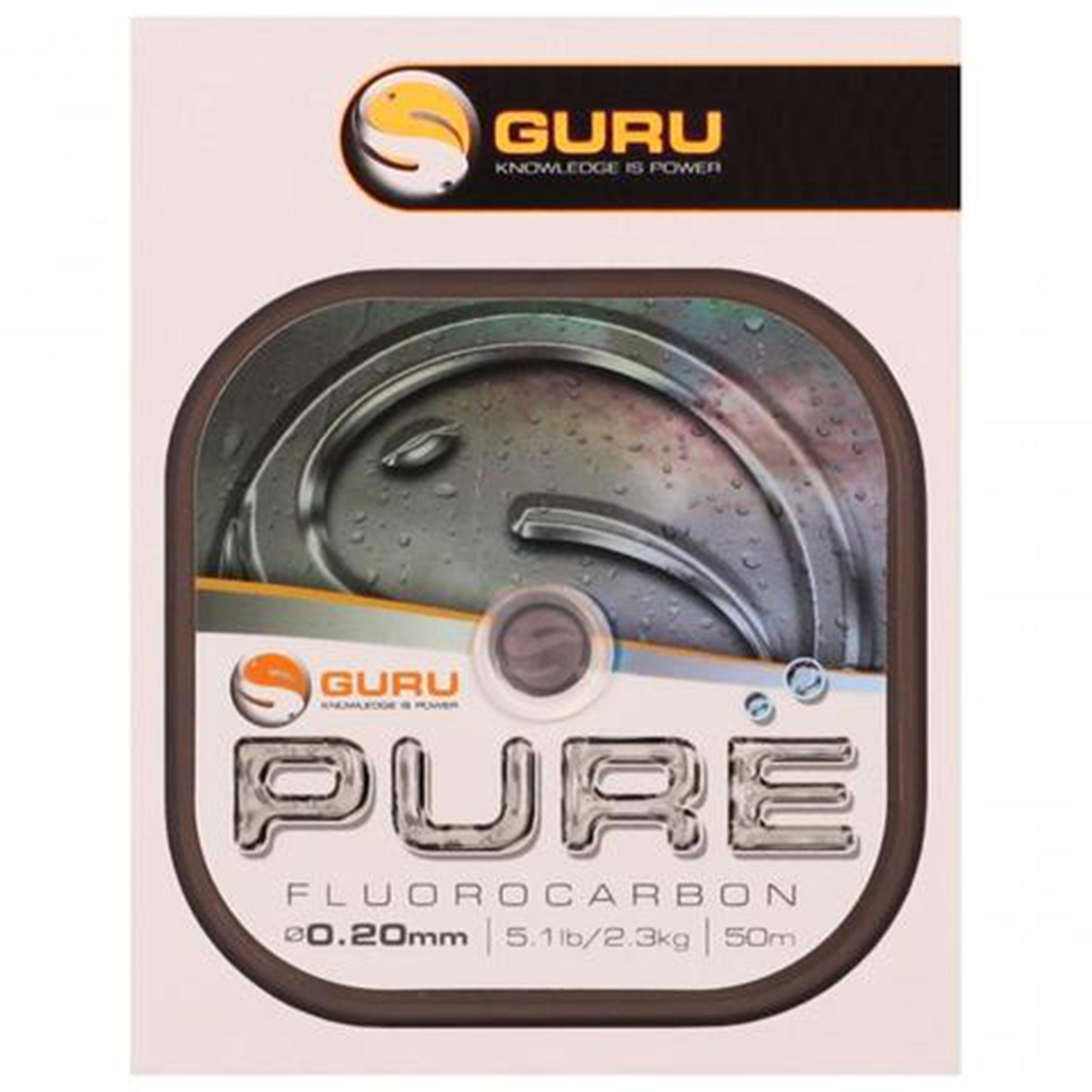 Monofilo PURE Fluorocarbon GURU 50mt