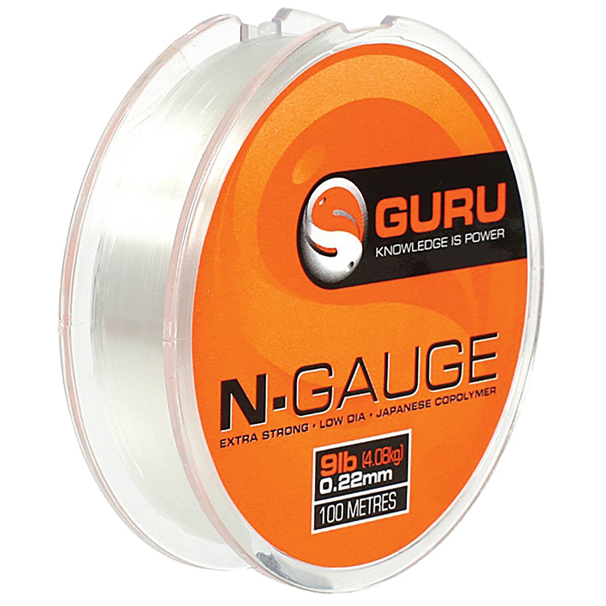 Monofilo N-Gauge GURU 100mt