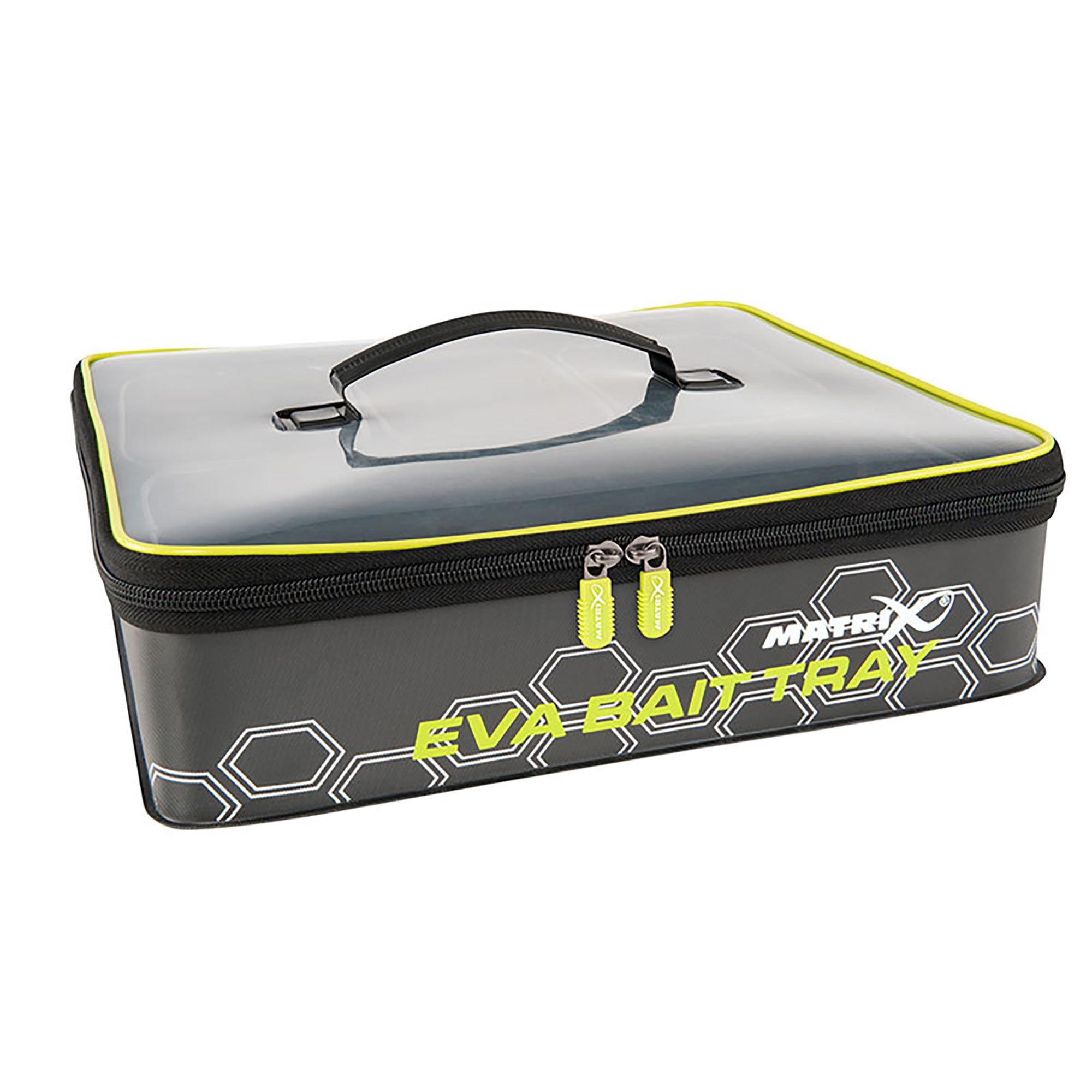 Set Pastura EVA Bait Tray 4 tubs - MATRIX (36x33x9,5 cm)