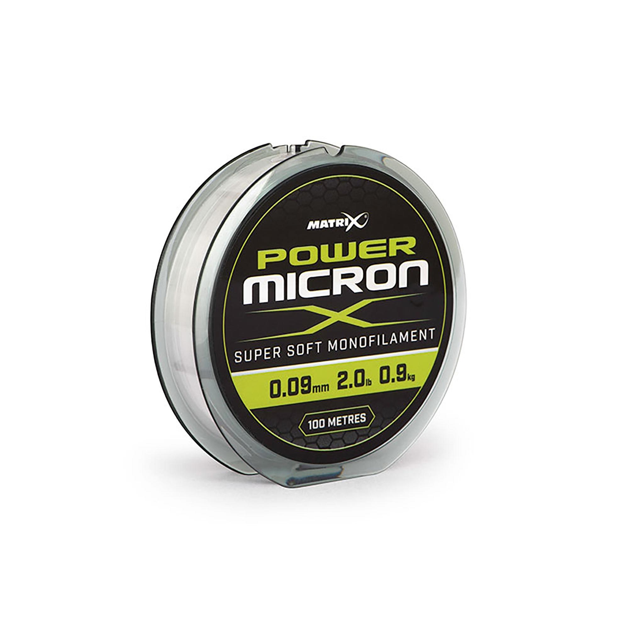 Monofilo Power Micron New MATRIX 100mt
