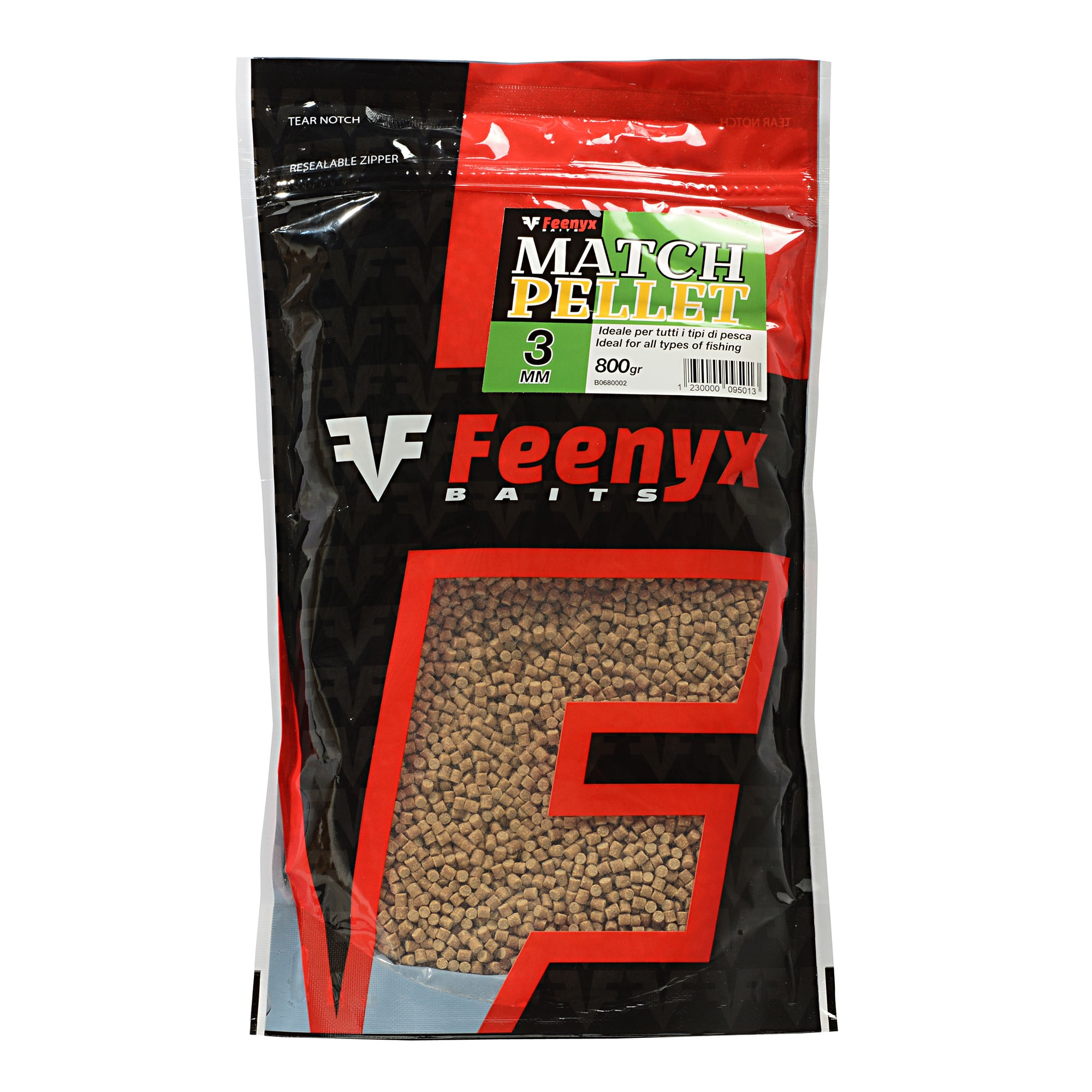 Match Pellet 3mm FEENYX BAIT (800gr.)