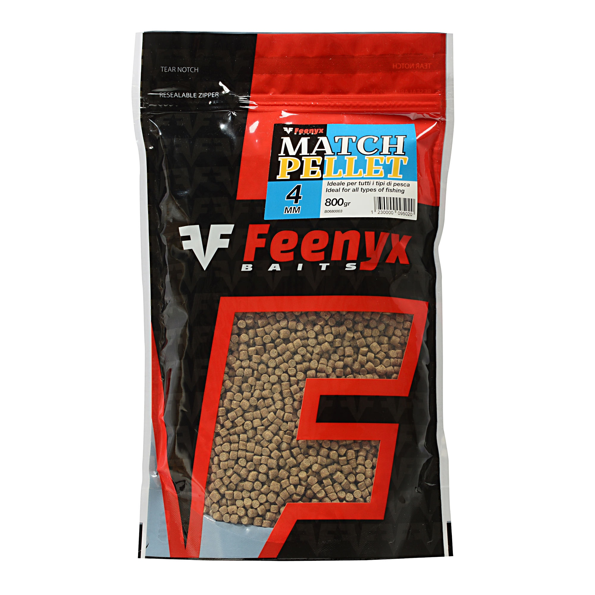 Match Pellet 4mm FEENYX BAIT (800gr.)