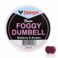 Foggy Dumbell Mulberry & Scopex 5mm FEENYX BAIT