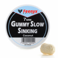 Gummy Slow Sinking Coconut 7mm FEENYX BAIT