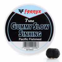 Gummy Slow Sinking Pacific Fishmeal 7mm FEENYX BAIT