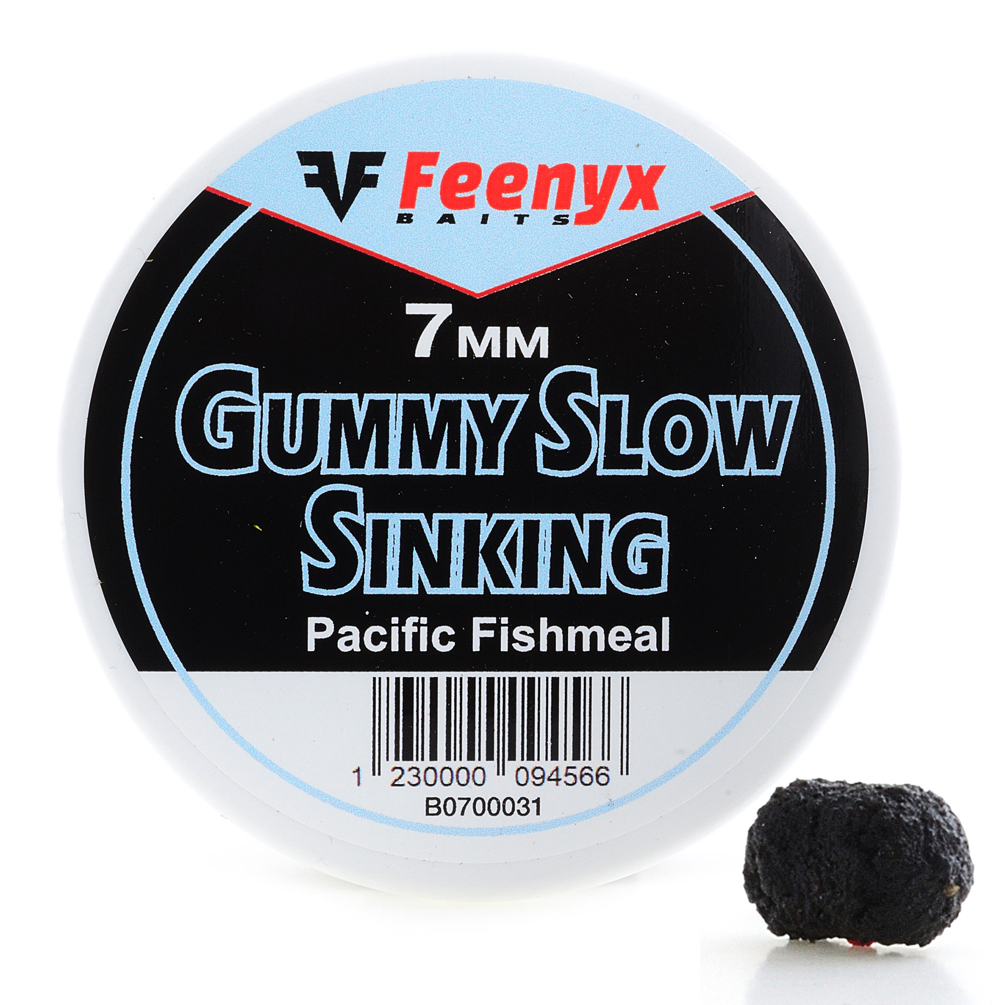 Gummy Slow Sinking Pacific Fishmeal 7mm FEENYX BAIT