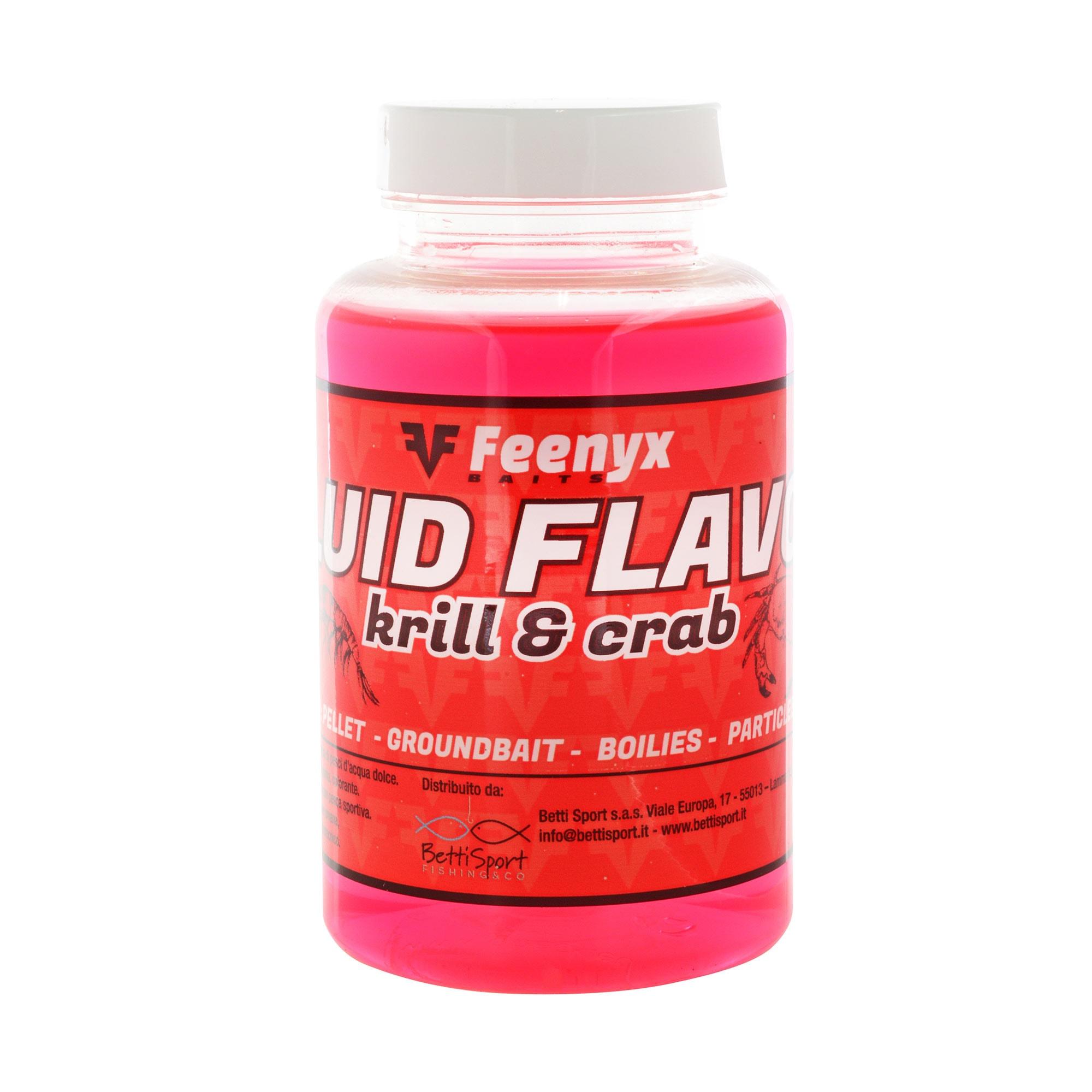Fluid Flavor Krill & Crab FEENYX BAIT (250ml)