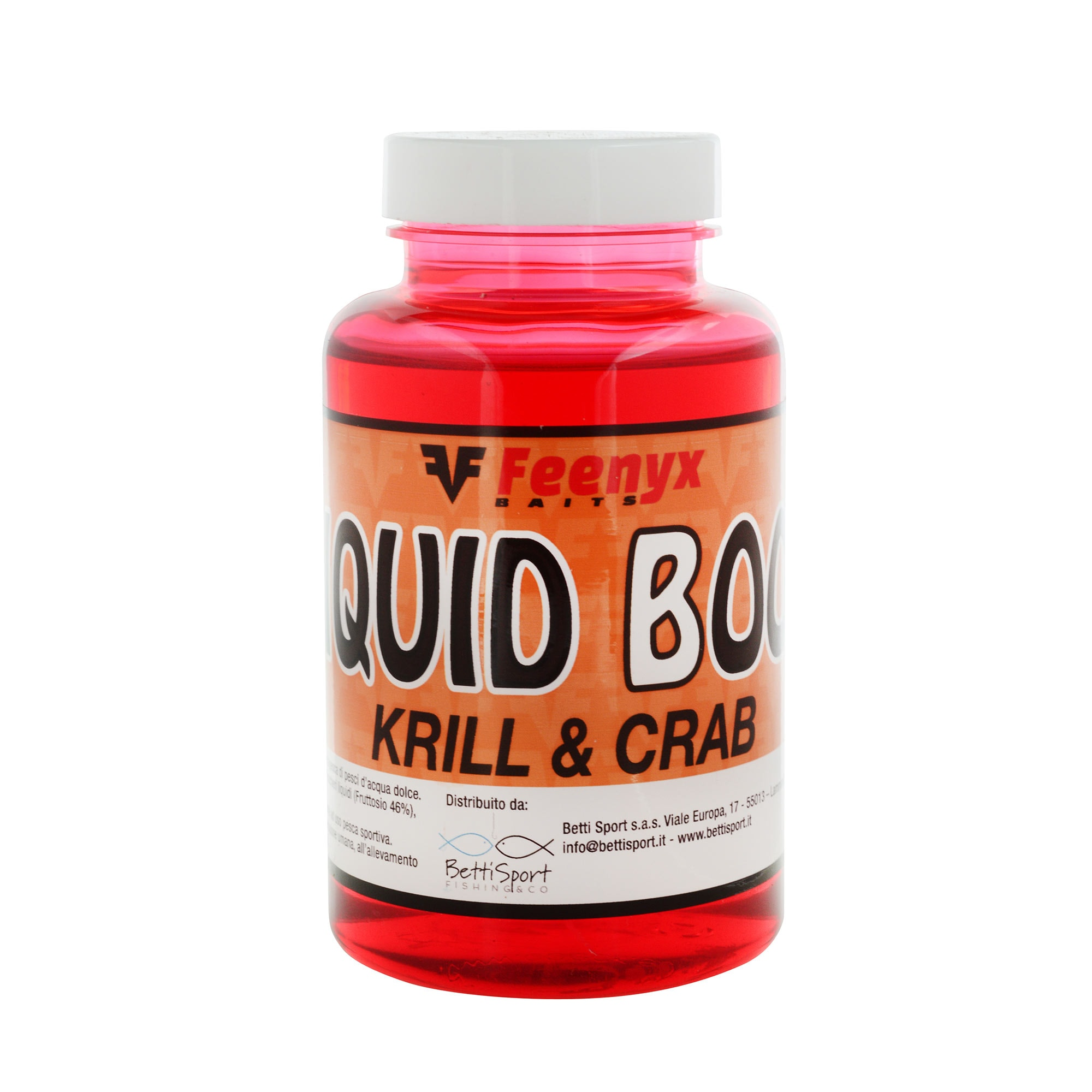 Liquid Boom Krill & Crab FEENYX BAIT (250ml)