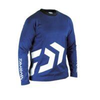T-shirt Blue Manica Lunga DAIWA